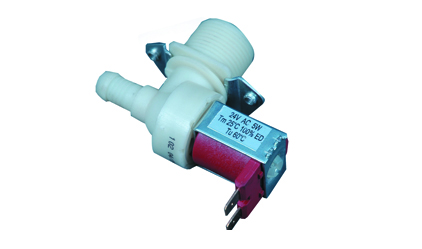 An electric 180 simple washing machine valve - 24 v