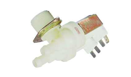 An electric 90 double washing machine valve - 220 v