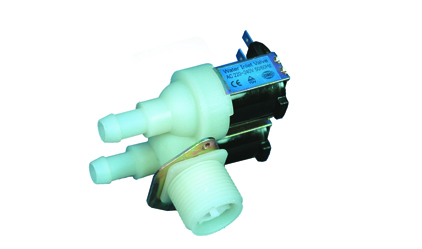 An electric 90 double washing machine valve - 220 v E.T.N